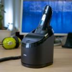 電気シェーバーの「自動洗浄器のサイズ(BRAUN・PHILIPS・Panasonic)」と「置き場所」の関係