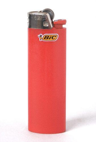 BIC製ライターの特徴的なカラーリング