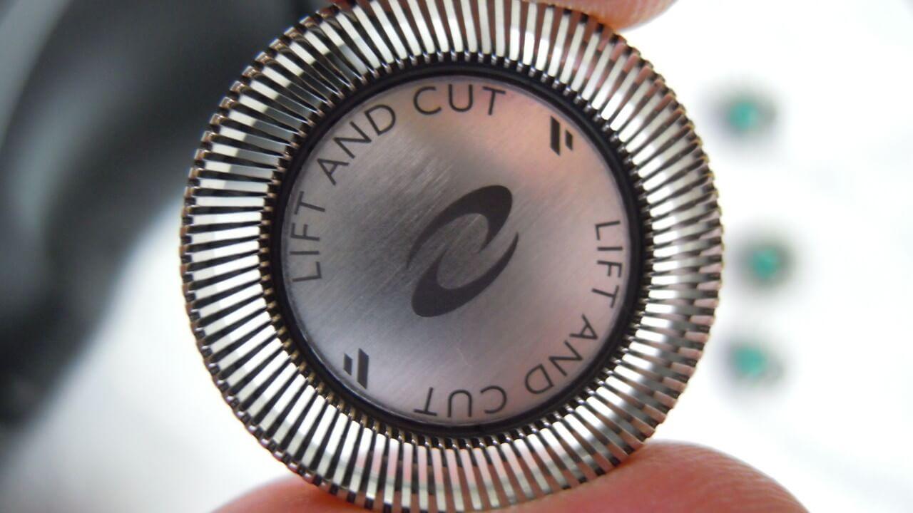 リフトアンドカット刃の外刃