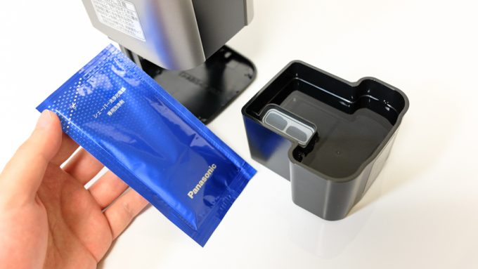 シェーバー専用の洗浄剤