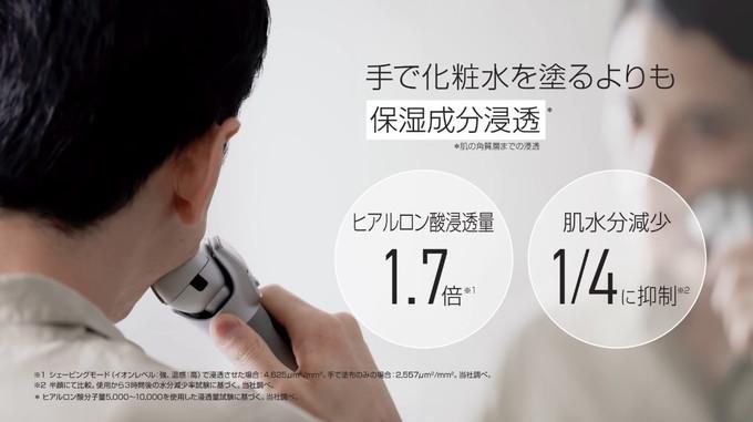 手で化粧水を塗るよりも保湿成分浸透1.7倍