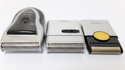 「スーパーレザー ES3832P」、「メンズシェーバー ES-RS10」、「カードシェーバーAITE ES518P」