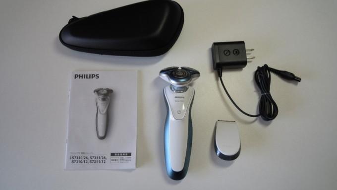 PHILIPS 7000シリーズ「S7311/12」の付属品