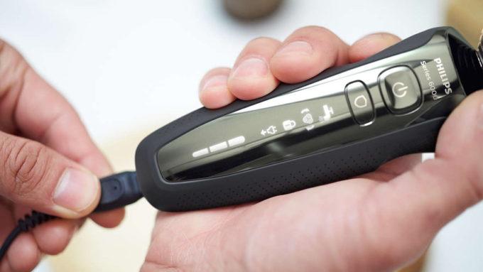 PHILIPS6000シリーズのバッテリー充電・駆動時間