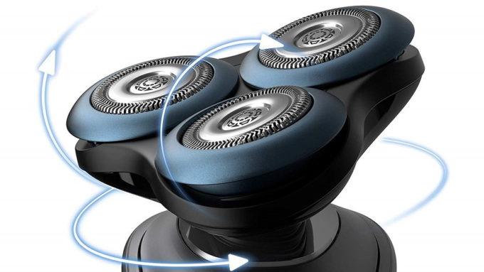 PHILIPSシェーバー S7000スマートのヘッド可動
