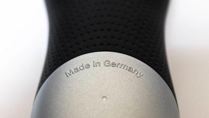 ドイツ製の刻印(BRAUNシリーズ7)