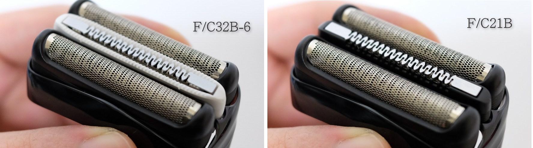 F/C32B-6とF/C21Bの比較