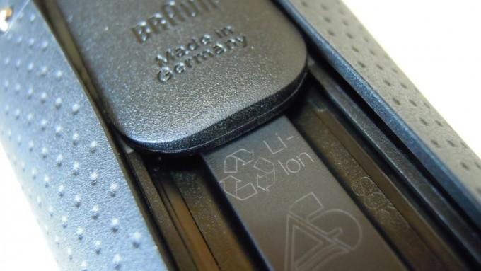 シェーバーの内蔵バッテリー