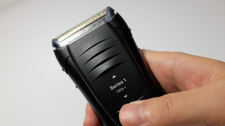 braunシリーズ1-190s-1のキワ剃りトリマー-2