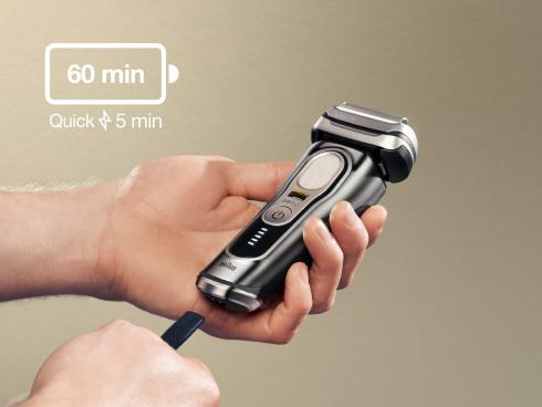 シリーズ9Proの充電時間と使用可能時間