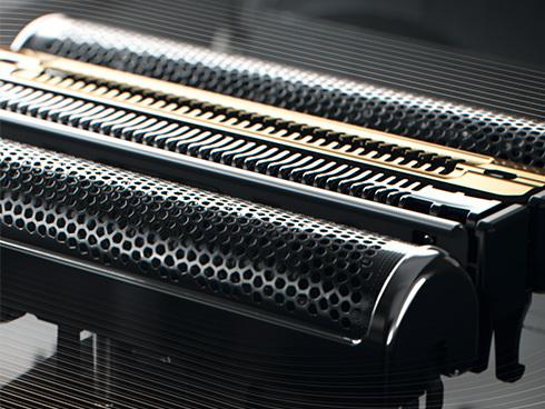 シリーズ9Proのデュアル連動刃とディープキャッチ網刃