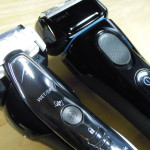 【ウェット剃り対応モデル】パナソニック「ES-ST29」とブラウン「5040s」の違いを比較