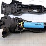 Panasonicラムダッシュ3枚刃(ES-ST29)の分解・バッテリー交換方法