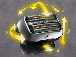 ラムダッシュ5枚刃シェーバーの5Dアクティブサスペンション