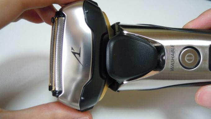 ラムダッシュ5枚刃ES-LV9Aのヘッド