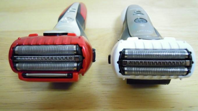 ラムダッシュ3枚刃旧モデルとの比較