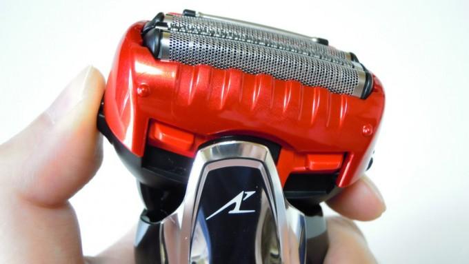 ラムダッシュ3枚刃のヘッド可動-3