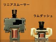 小型リニアモーター