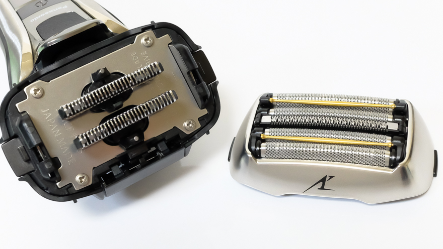 Panasonicラムダッシュ5枚刃の外刃と内刃