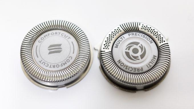 コンフォートカット刃とマルチプレシジョン刃の比較