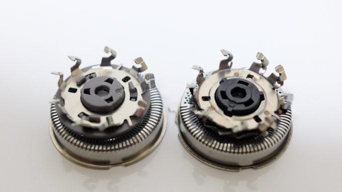 コンフォートカット刃とマルチプレシジョン刃の比較-2