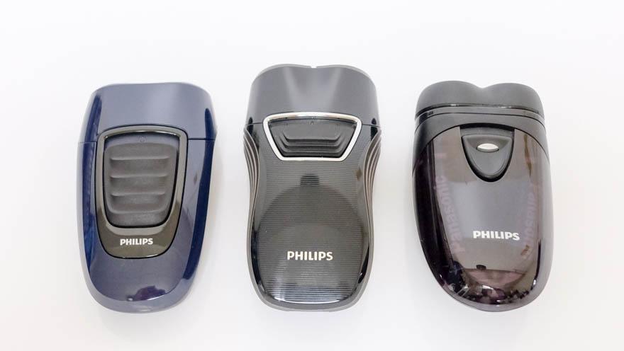 「ポータブルシェーバー PQ190/16」と従来モデルの比較