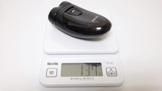 PQ209/17の重量