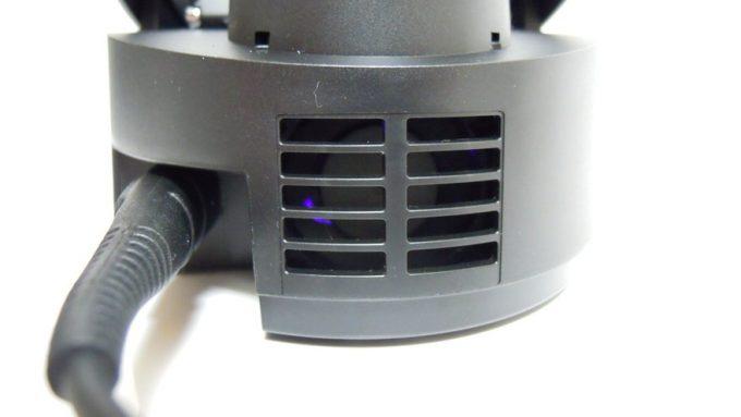 LED光乾燥器の排気口
