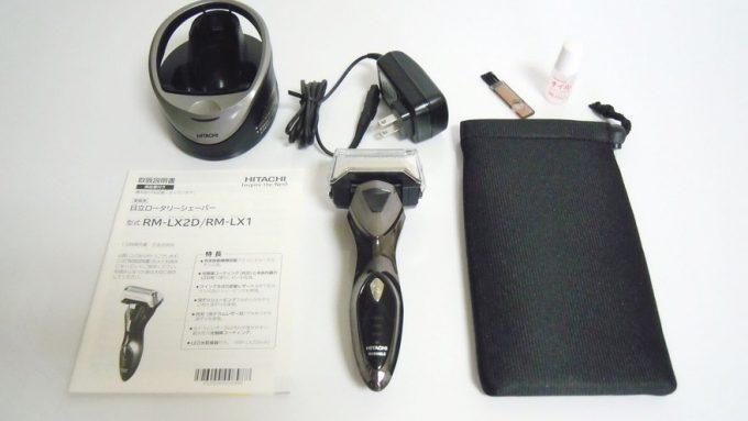 ロータリージーソードRM-LX2Dの付属品