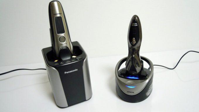 Panasonic自動洗浄器と日立LED光乾燥機