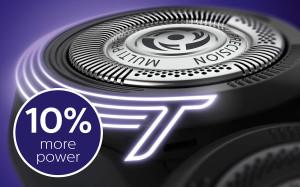 ターボモードで10%回転数がアップ。