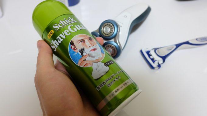 シェービングフォームで肌に優しい深剃り