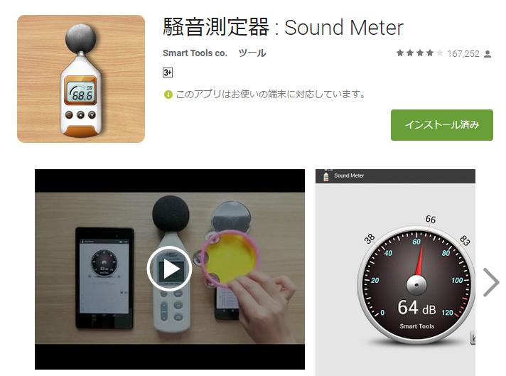 騒音測定器 : Sound Meter
